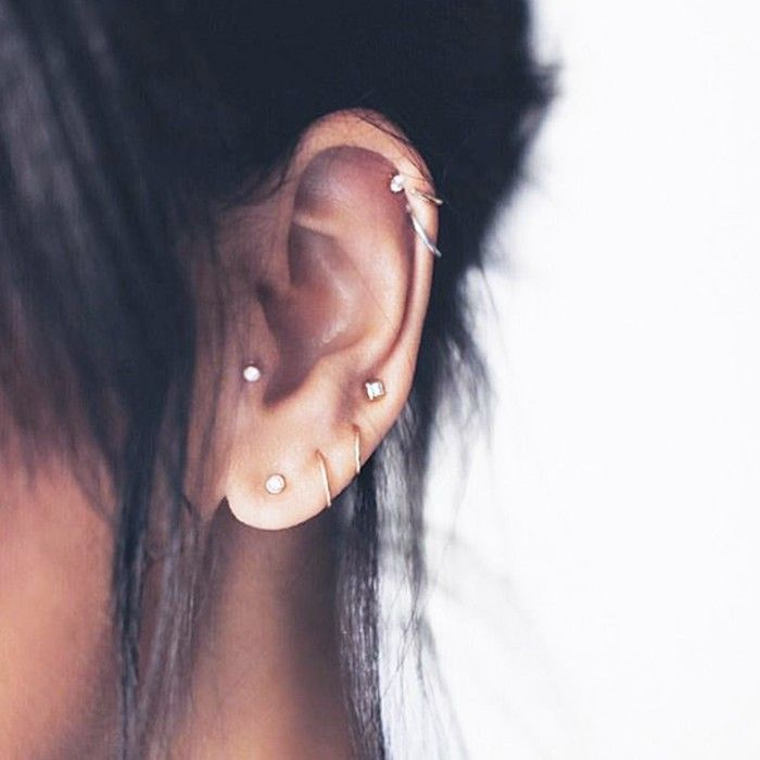 15 Cool Girl Ear Piercings We Discovered On Pinterest