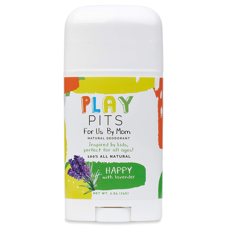 Play Pits Happy Natural Deodorant