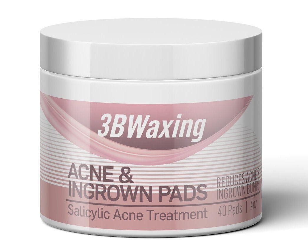 3BWaxing Acne & Ingrown Pads