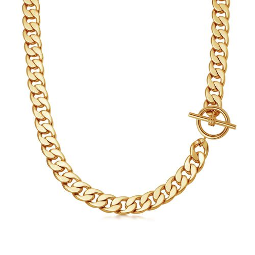 Missoma Lucy Williams T-Bar Chunky Chain Necklace