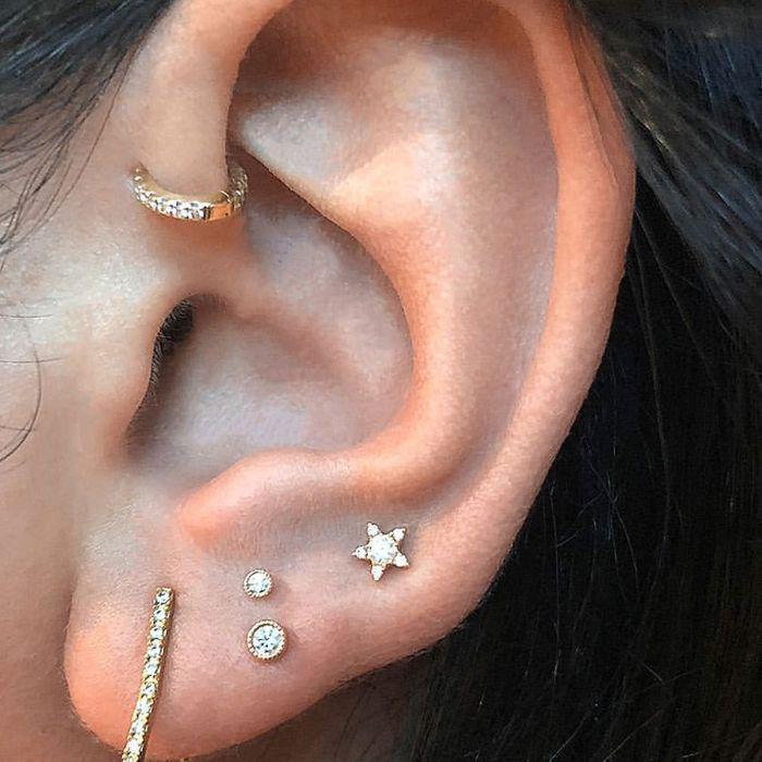 High Lobe Piercing