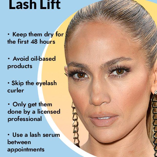 eye lash lift tips
