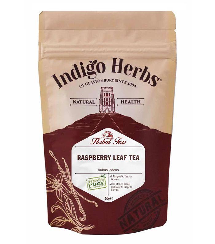 natural pain relief: Indigo Herbs Raspberry Leaf Herbal Tea
