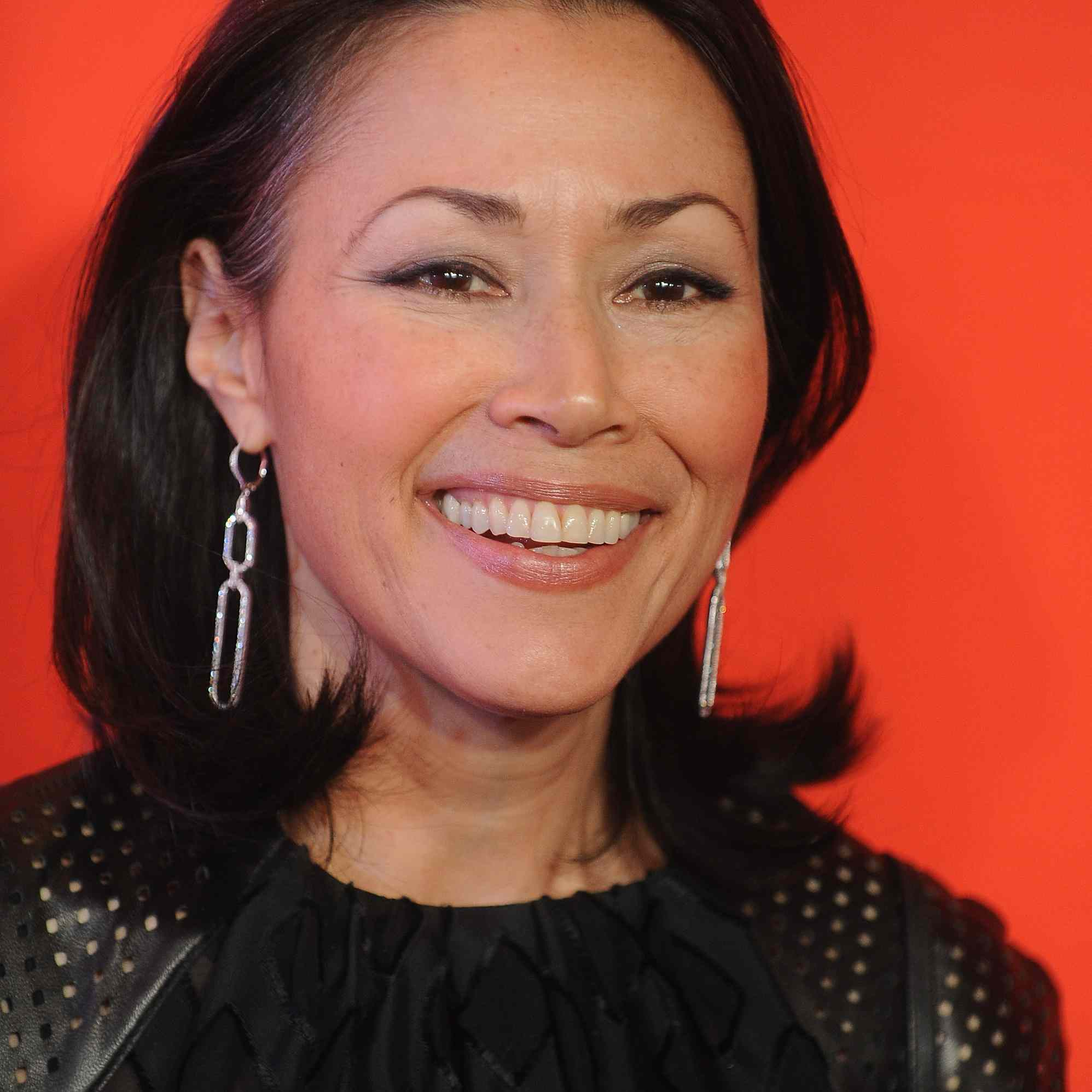 Ann Curry with under-curled ends