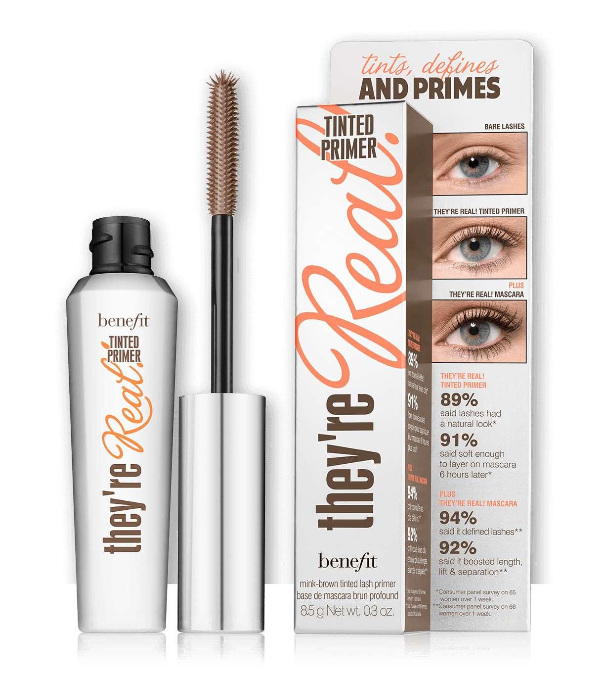 benefit theyre real tinted eyelash primer