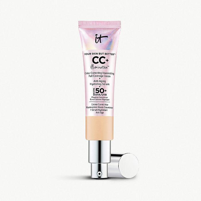 best foundations: It Cosmetics Your Skin But Better CC+ Illumination SPF 50+ Cream