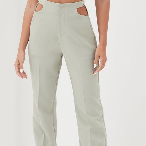 4th & Reckless Corsica Cut Out Straight Leg Pants