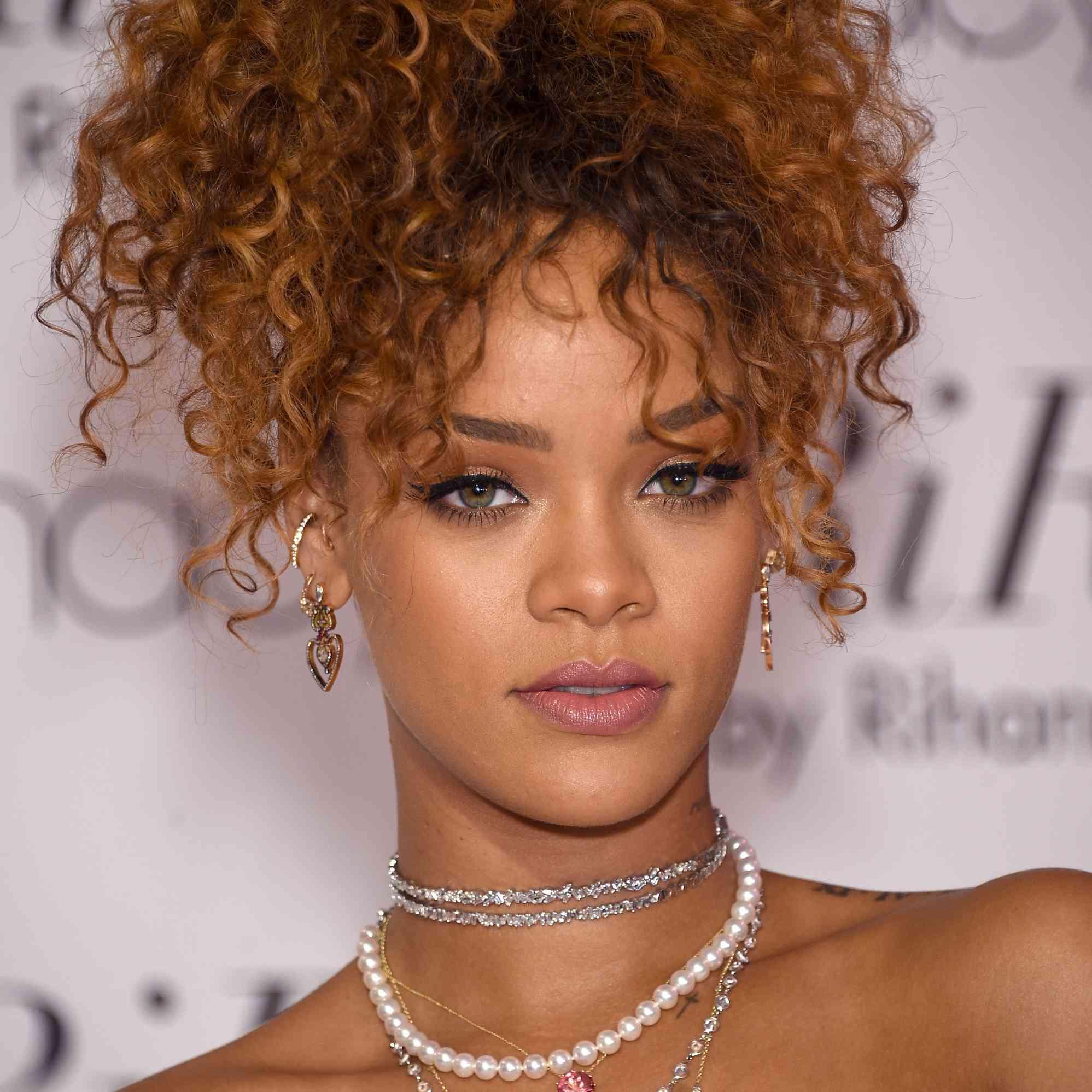 Rihanna Blonde Hair