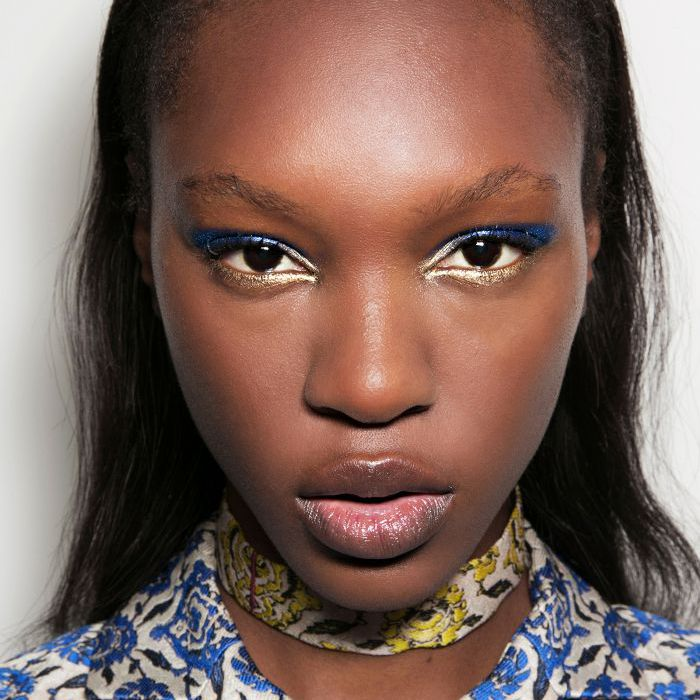 Gold Eyeliner - Cool Eye Makeup