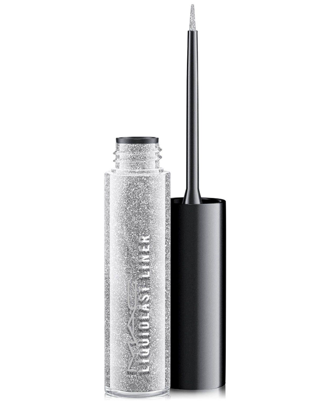MAC Silver Liquid Liner - New Year's Eve Makeup