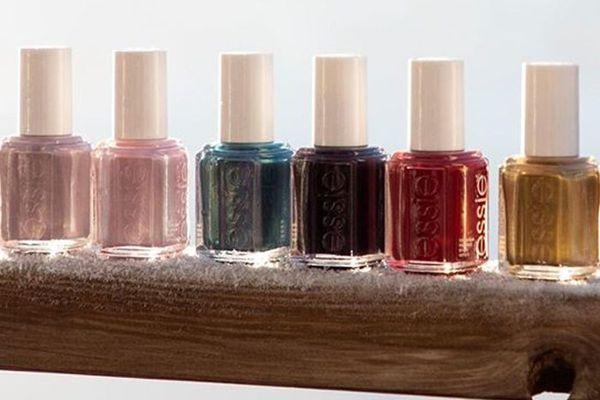 different shades of nail polish