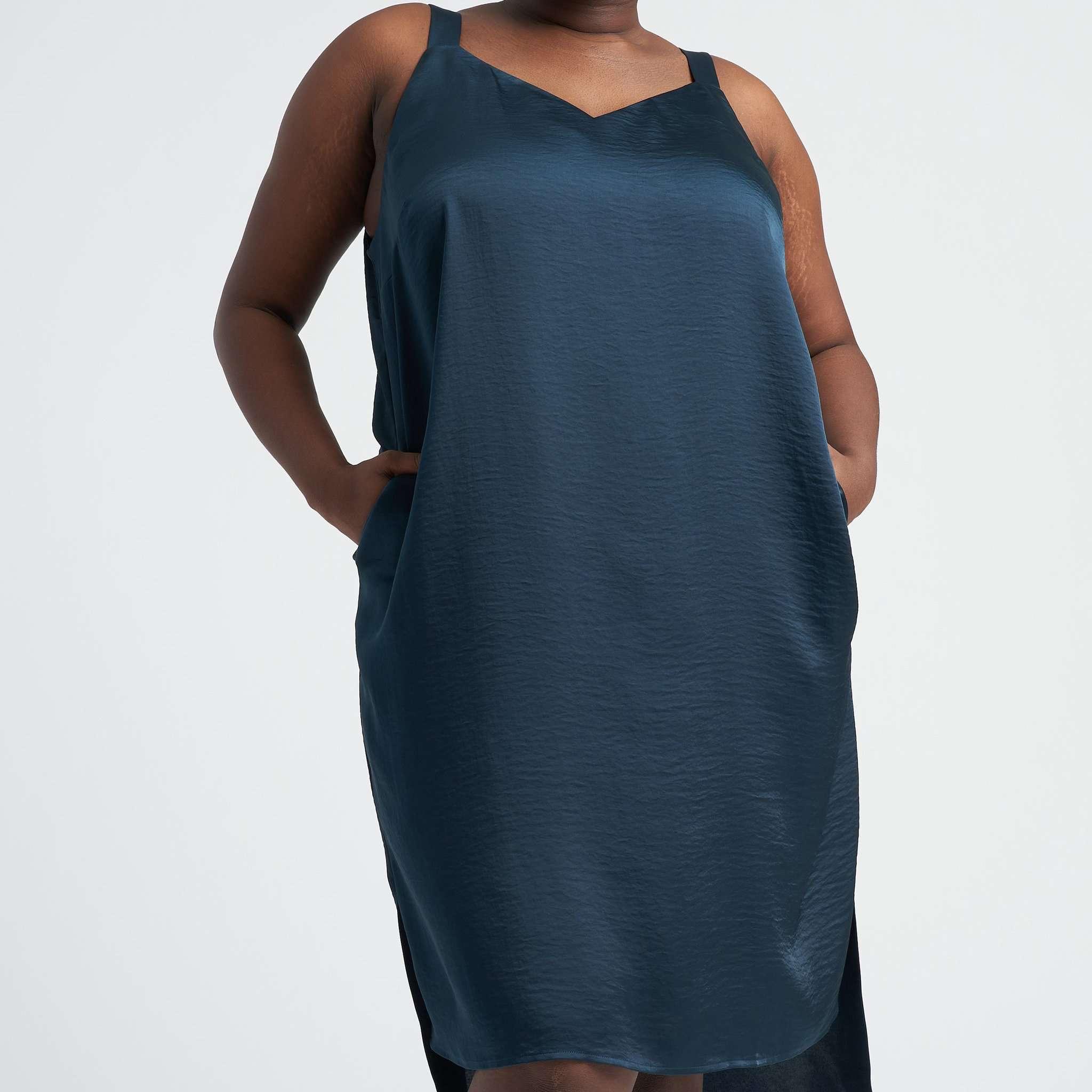 Universal Standard Kara Luxe Satin Slip Dress