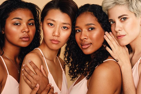 diverse group of femmes