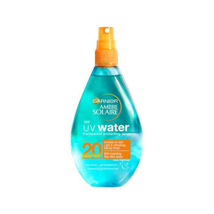 best sun cream: Ambre Solaire UV Water Clear Sun Cream Spray SPF