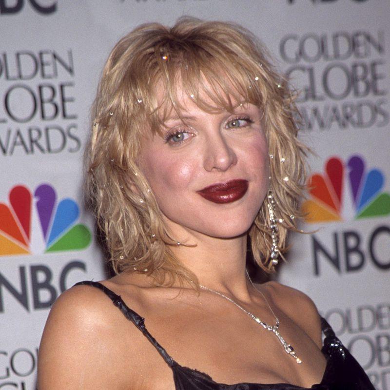 Courtney Love Shag Hair