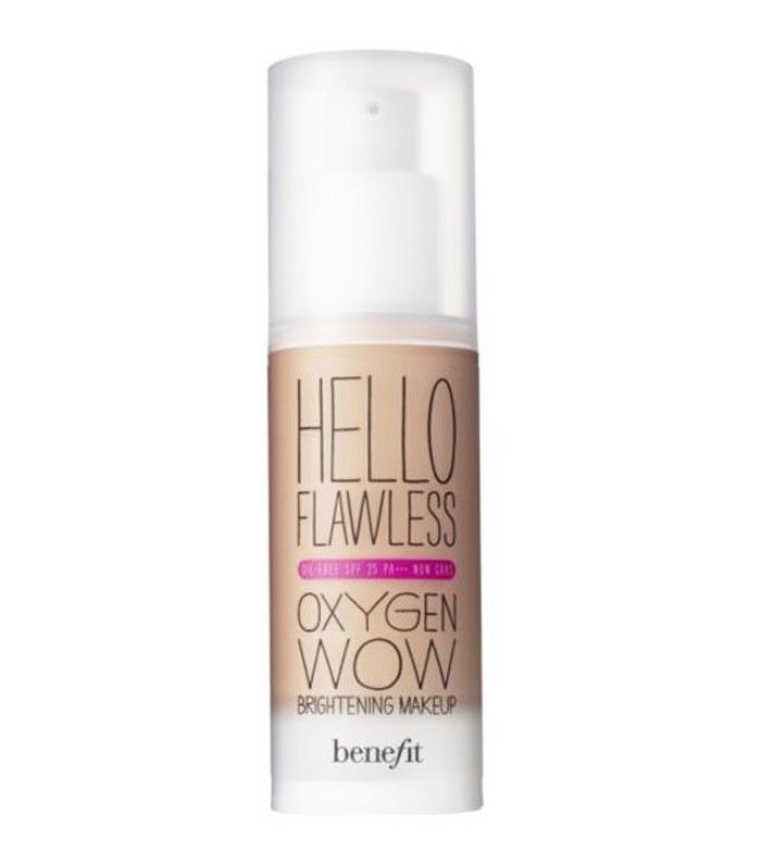 best foundation for oily skin: Benefit Hello Flawless Oxygen Wow