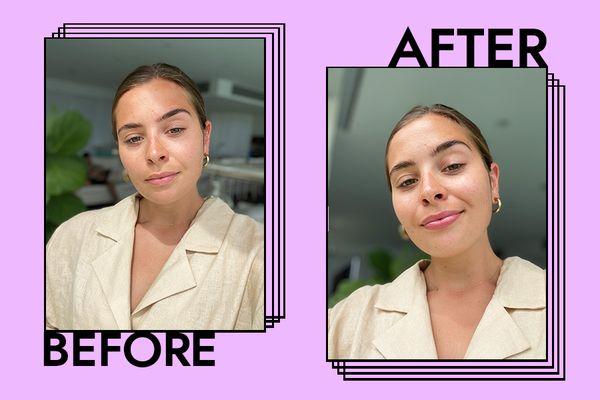 Marc Jacobs Beauty Enamored Lip Gloss Results on Emily Algar