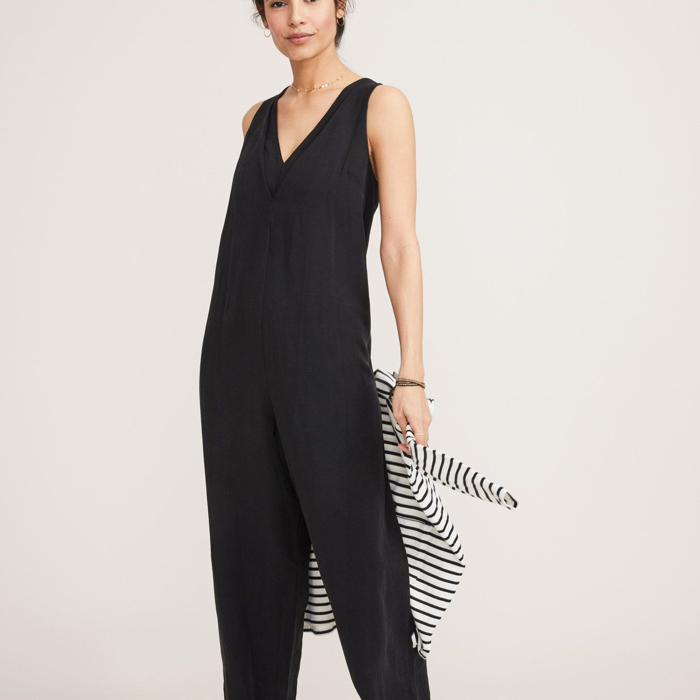 The Back In The Game Nursing Jumpsuit