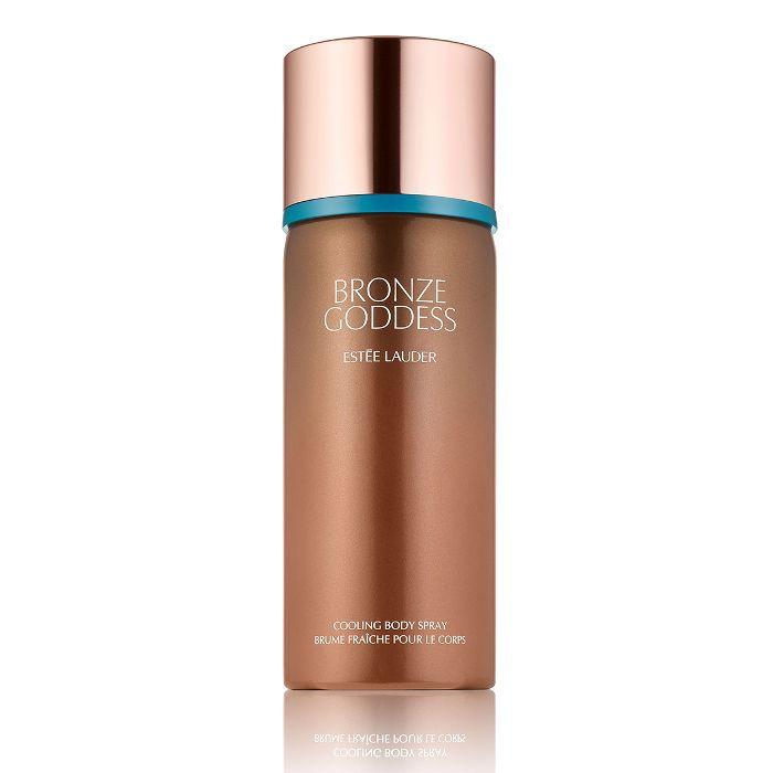 honeymoon beauty: Estée Lauder Bronze Goddess Cooling Body Spray
