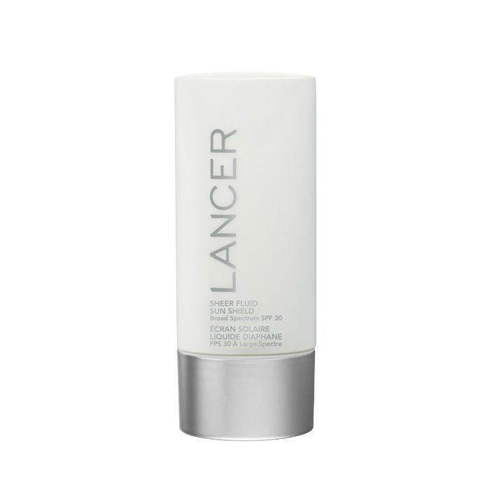 Lancer Skincare Sheer Fluid Sun Shield Broad Spectrum SPF 30