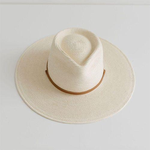 River Guatemalan Palm Hat ($176)