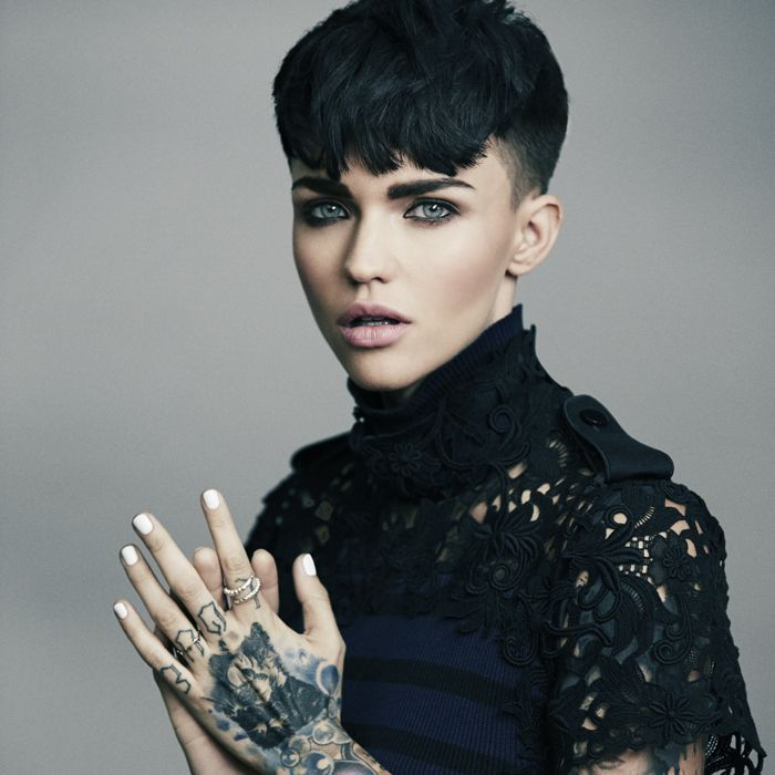 Ruby Rose Tells on Gender Identity and Beauty Secrets