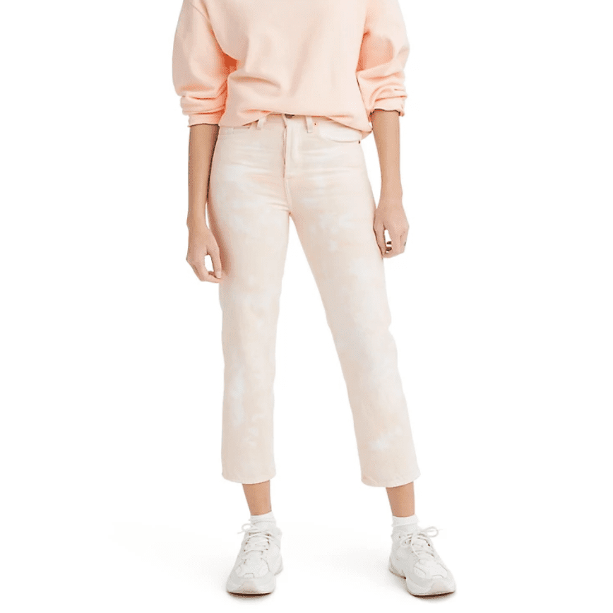 Levi's Wedgie Straight Jeans in In the Peach
