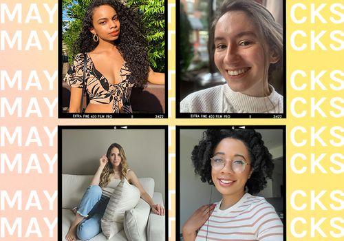 Olivia Hancock, Kathryn Vandervalk, Eden Stuart, and Lindsey Metrus