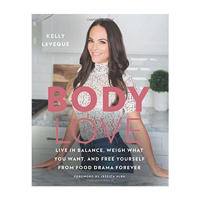 Kelly Leveque Body Love: new book cover