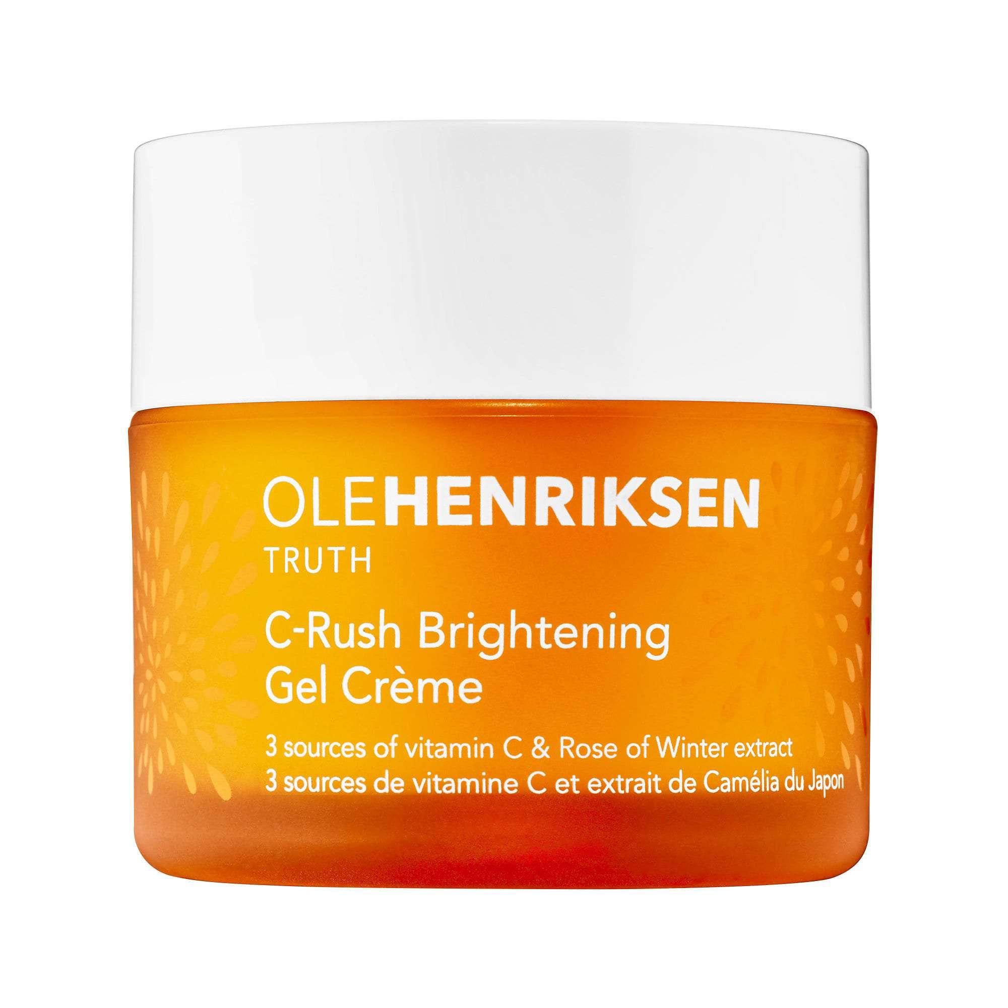 container of Ole Henriksen vitamin C moisturizer