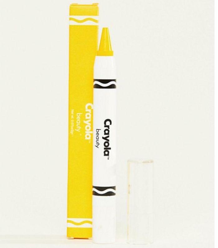 ASOS Crayola Face Crayon in Dandelion