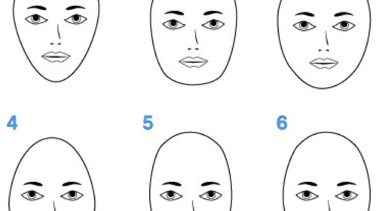 27b05e4f71 How to Measure to Determine Your Face Shape