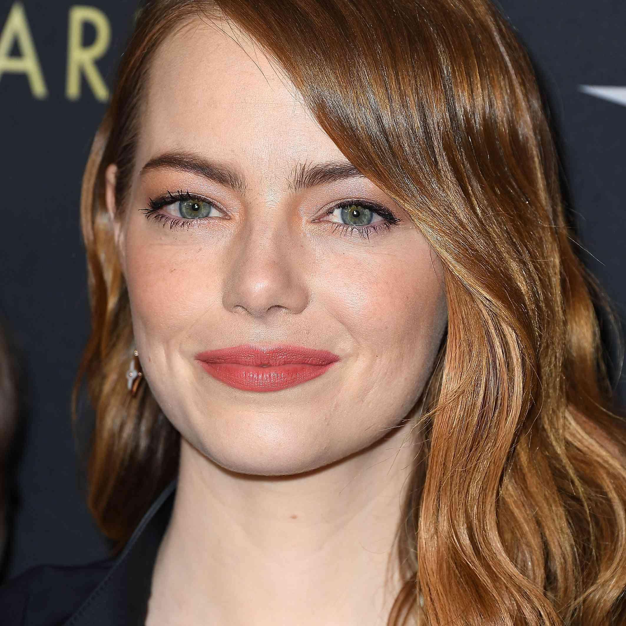 Emma Stone natural makeup
