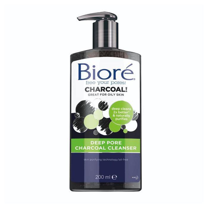 Bioré Deep Pore Charcoal Cleanser