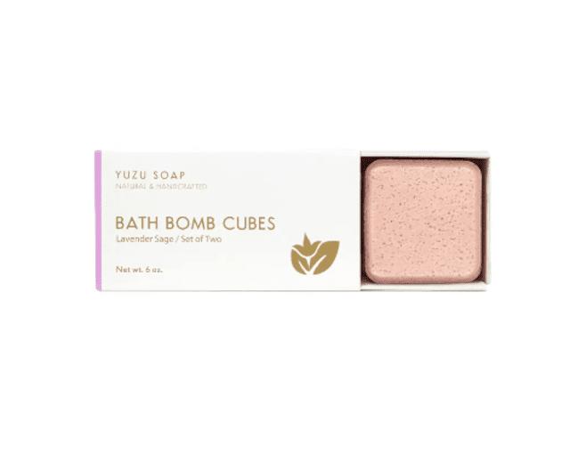 Yuzu Soap Bath Bomb Cubes