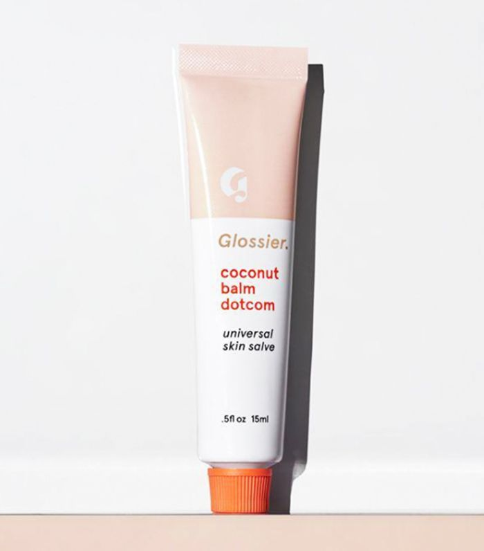 secret santa ideas: Glossier Coconut Balm Dotcom