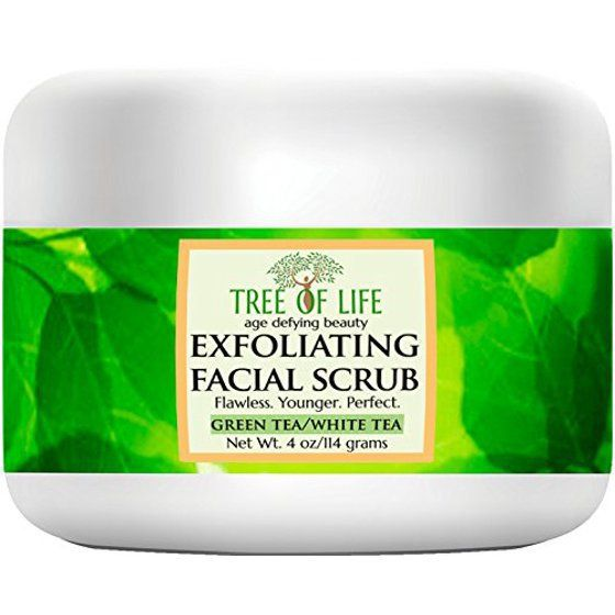 Tree of Life Exfoliating Facial Scrub