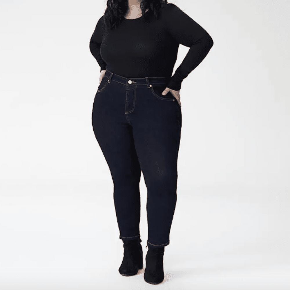 Universal Standard Seine High Rise Skinny Jeans Petite