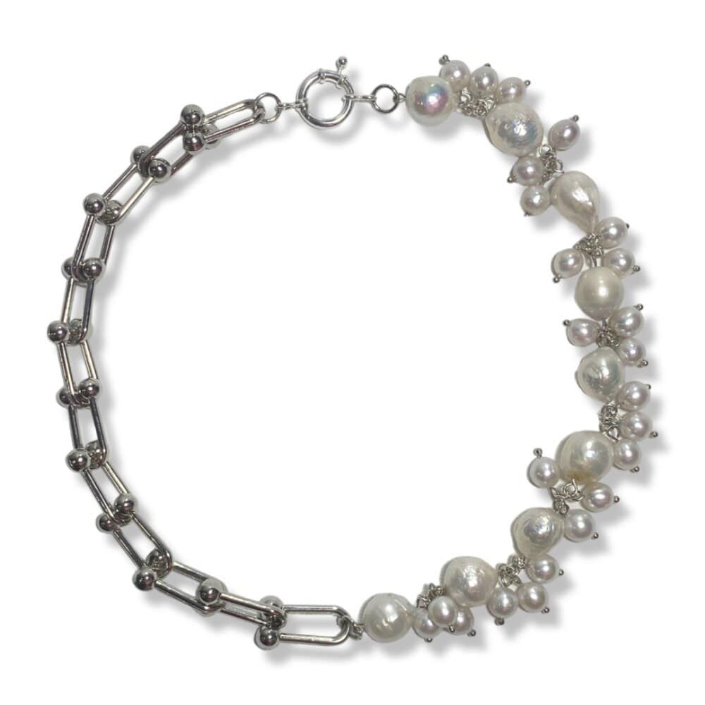 ChurchPants Rebel With A Pearl Addiction Necklace