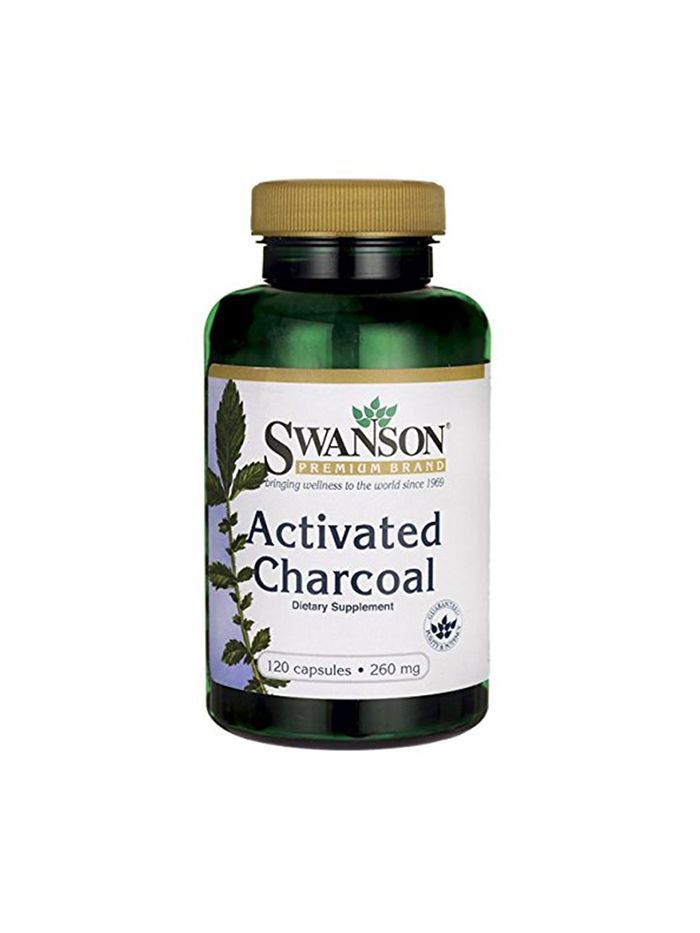Swanson Activated Charcoal - Festival Beauty Essentials