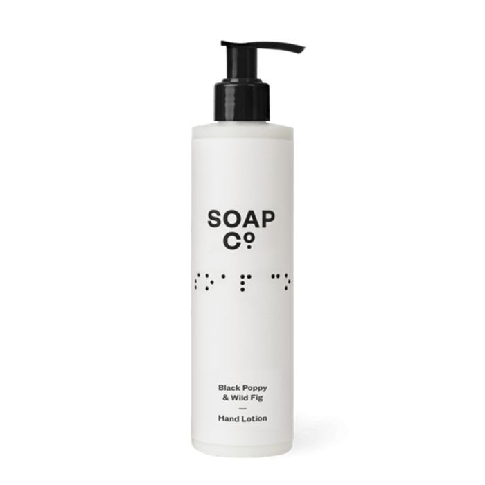 The Soap Co. Black Poppy and Wild Fig Hand Lotion