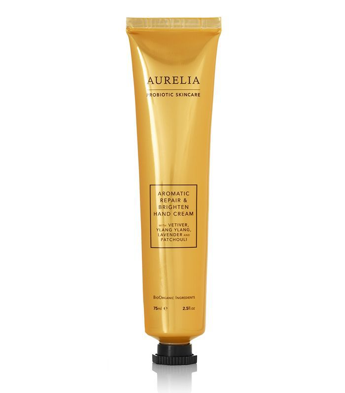 Stress-relieving products: Aurelia Probiotic Skincare Aromatic Repair & Brighten Hand Cream