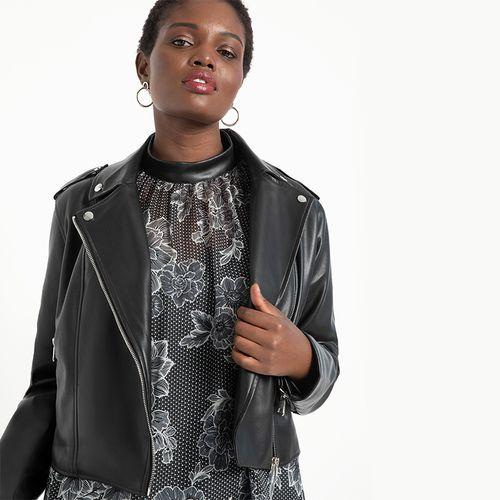 Faux Leather Moto Jacket ($130)