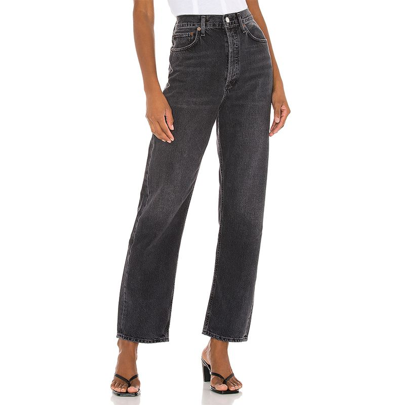 90's Mid Rise Loose Jeans