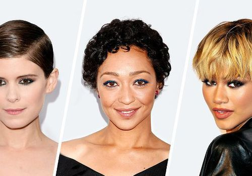 Kate Mara / Ruth Negga / Zendaya pixie cuts