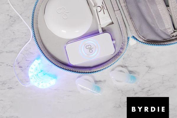 glo science brilliant deluxe teeth whitening kit