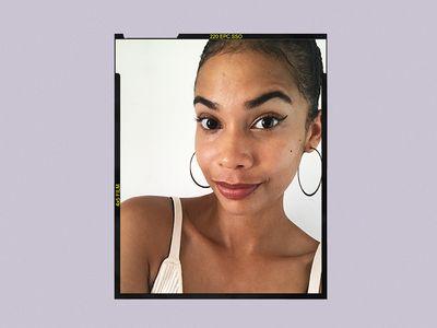 Fenty Beauty Flyliner Liquid Eyeliner Results on Celeste Polanco