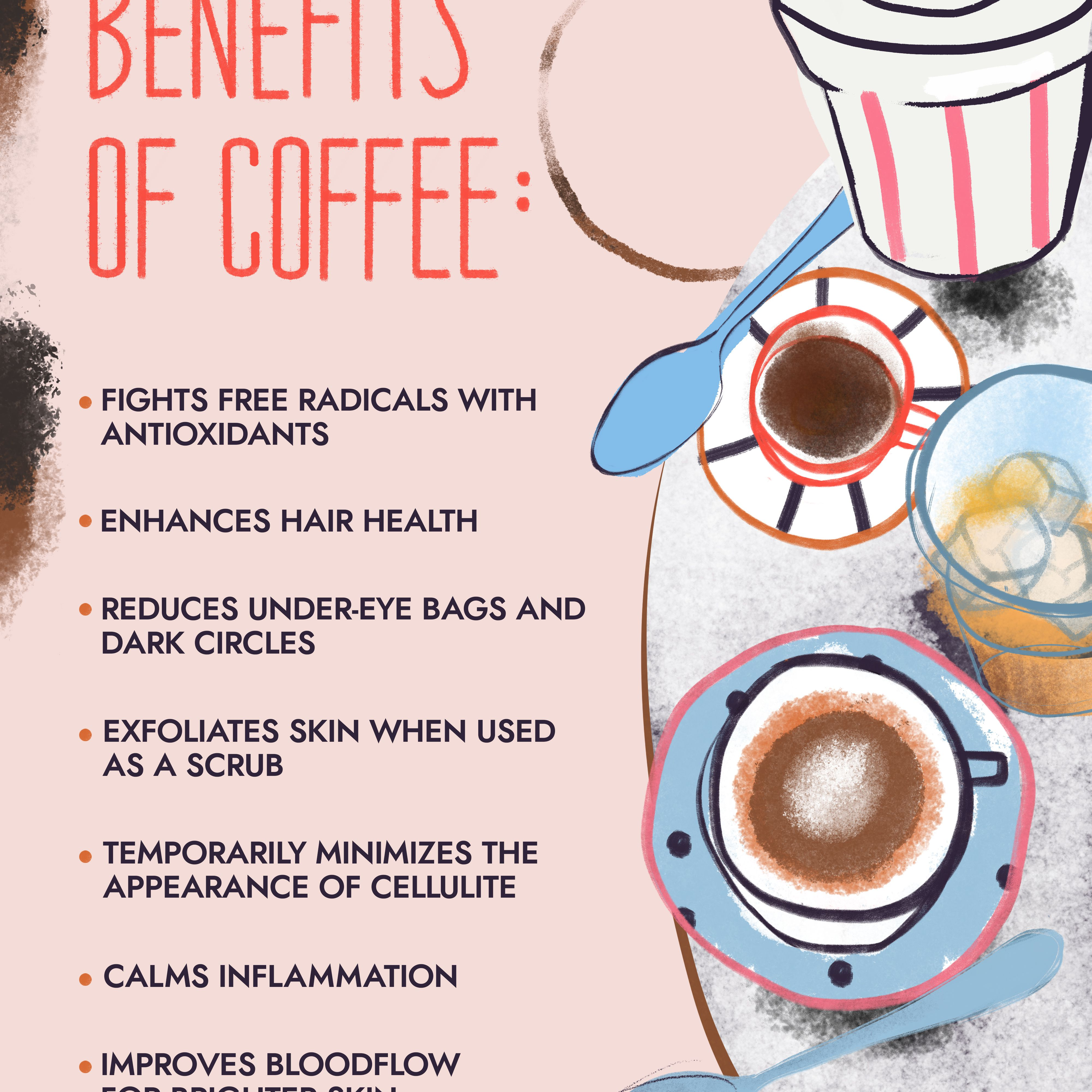 Benefits Of Honey Water For Skin 7 beauty benefits from coffee