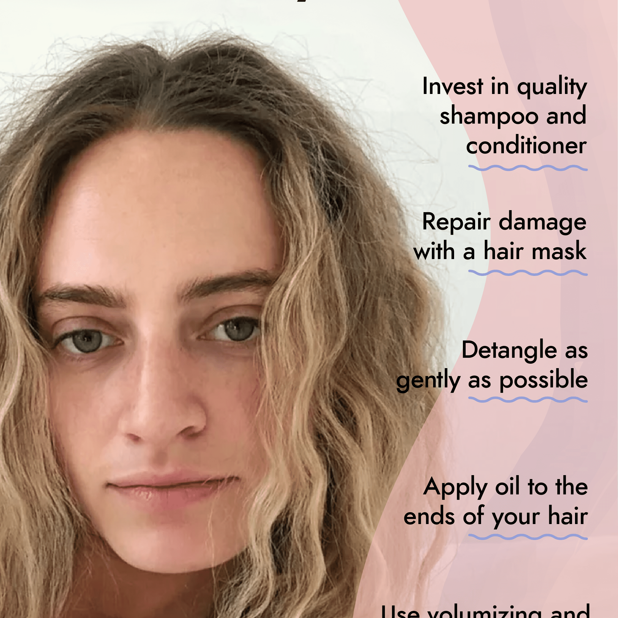 How To Style Thin, Curly Hair