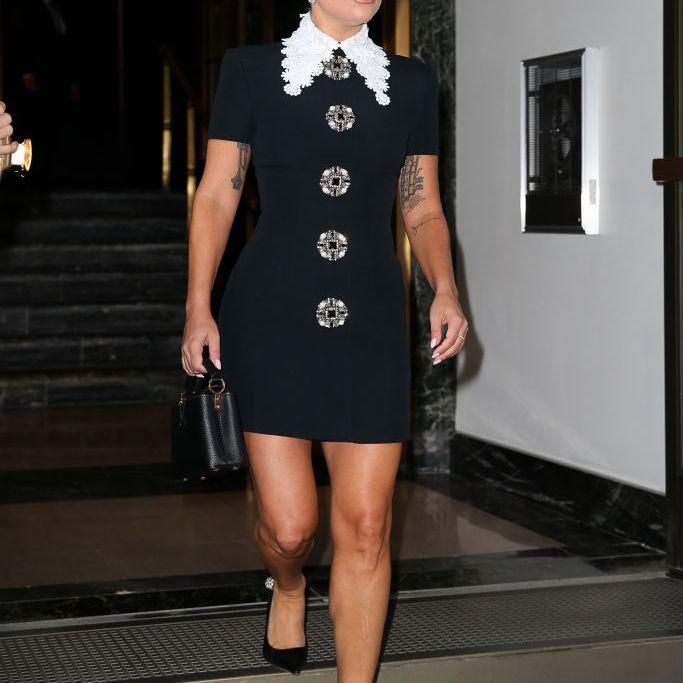Lady Gaga Outfits Mini Dress